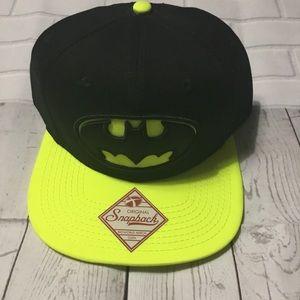 Batman SnapBack TM & DC Comics Hat NWT